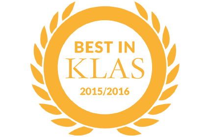 Best in KLAS Award logo