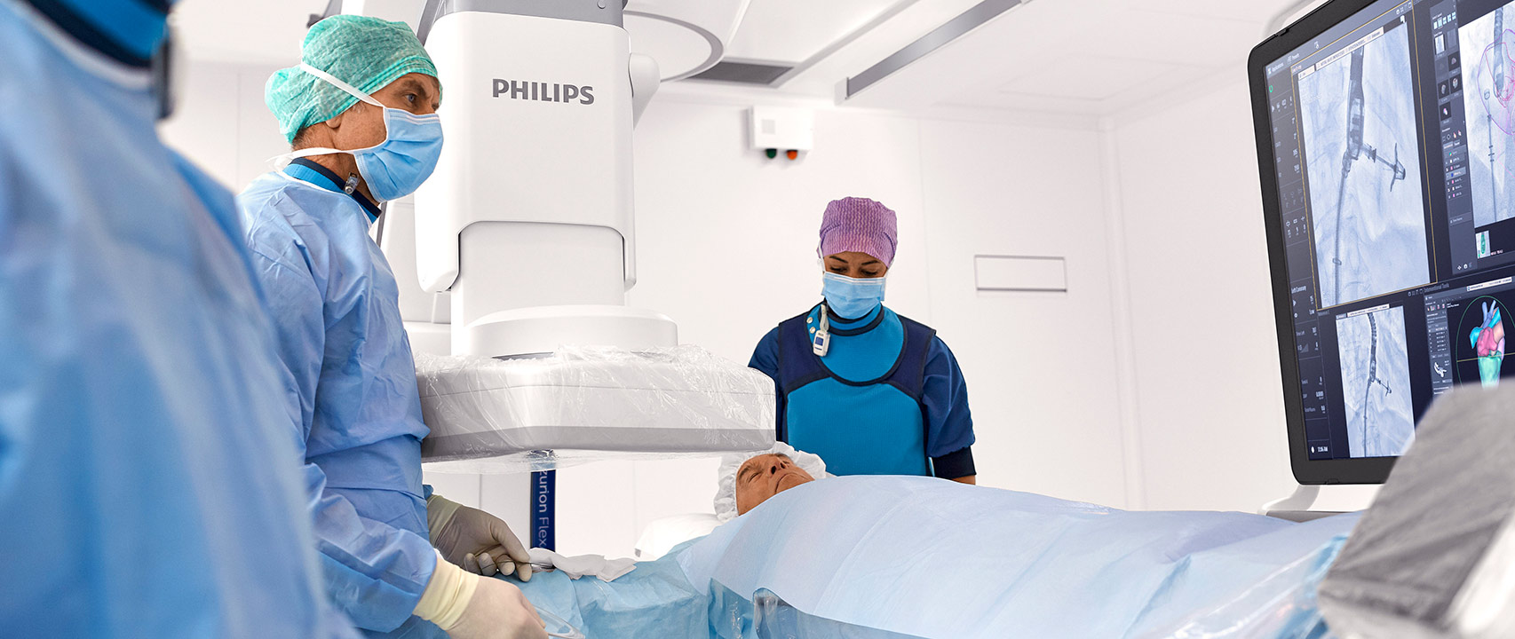 Philips Azurion with FlexArm