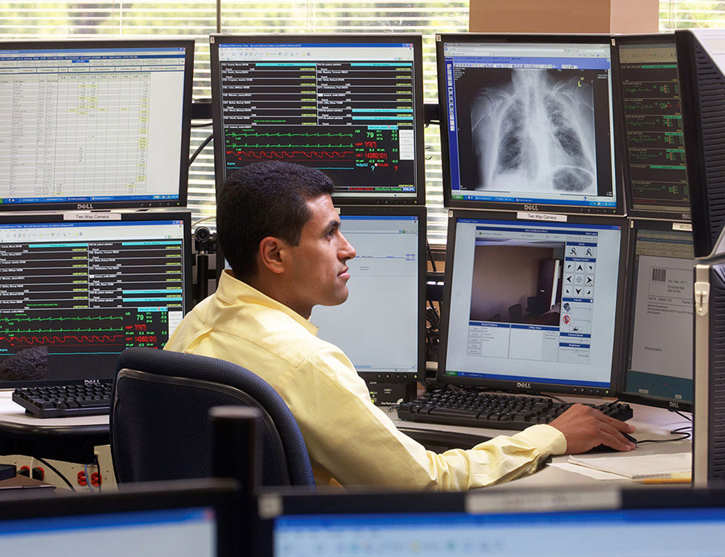 Enterprise telehealth using Philips eICU technology