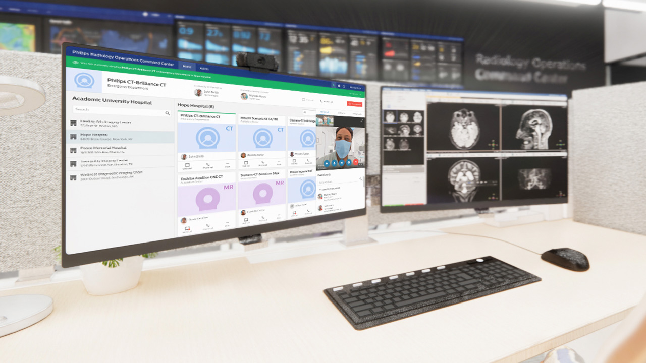 Radiology operations command center
